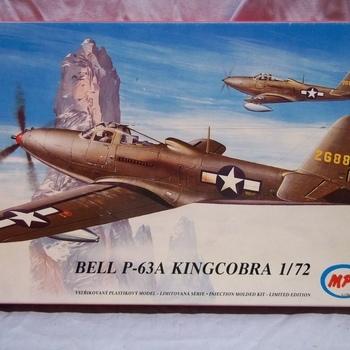 MPM 72021 Bell P-63A Kingcobra