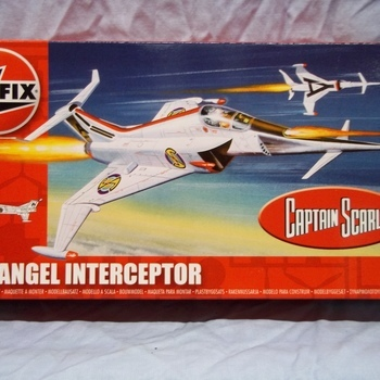 A 2026 Captain Scarlet Angel interceptor