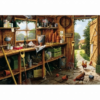 G 846 The garden shed