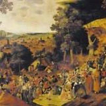 RI 16193 The Golgota Brueghel 1500 st