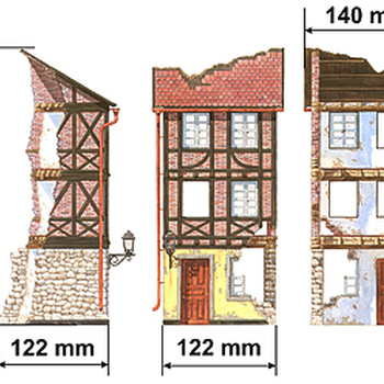 MA 35503 Normandy city building