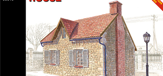 MA 35510 French village house