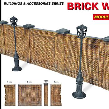 MA 35547 Brick wall