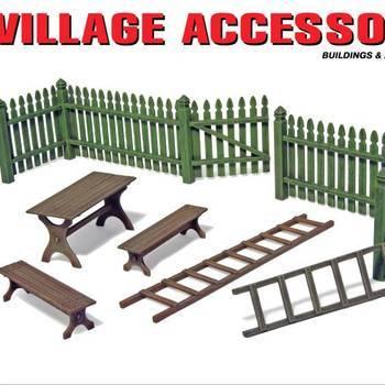 MA 35539 Village accessories