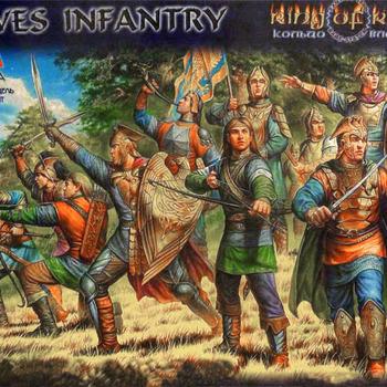 Z 8811 Elves infantry 28mm