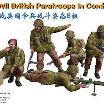 B 35131 British paratroops in combat set B