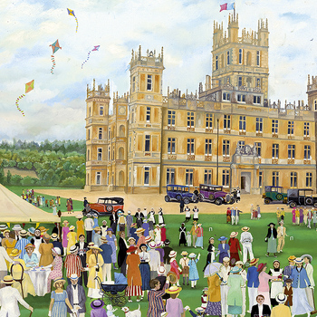 G 3072 Highclere castle