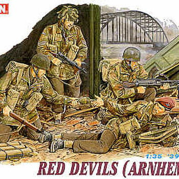 D 6023 Red devils ( Arnhem 1944 )