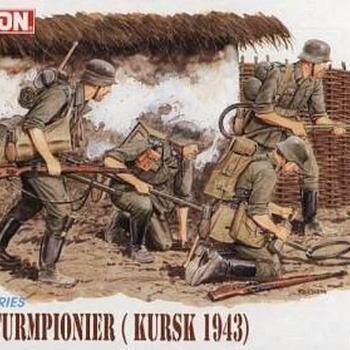 D 6024 German sturmpionier ( Kursk 1943 )