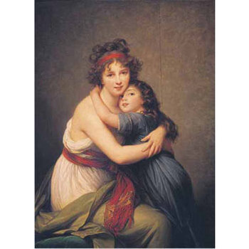 RI 15997 Autoritratto con la figlia V Le Brun 1000 st