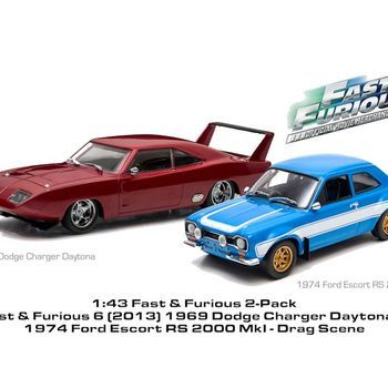 GL 86251  F & F escort en dodge 1/43