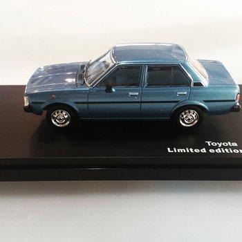T9 43052 Toyota corolla 1979 Metallic blue