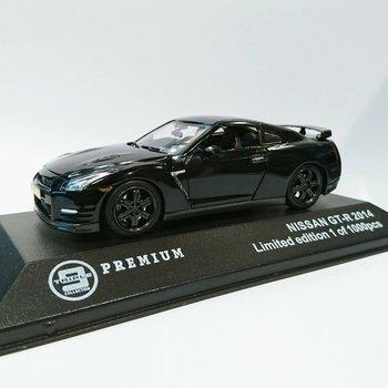T9 10007 Nissan GT-R 2014 black