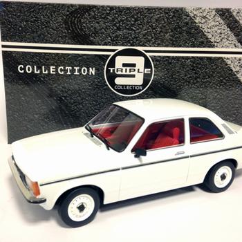 T9 Opel kadett C2  2-door 1977 white