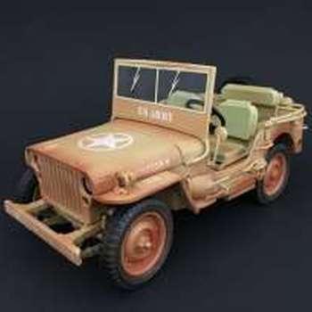 "T9 1800140 Jeep Willys 1943 ""Casablanca"""