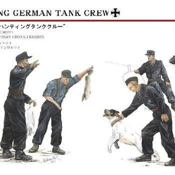 AF 35092 Hunting German tank crew 1943