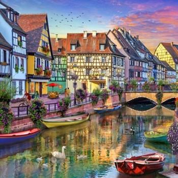 E 17134 Colmar canal France