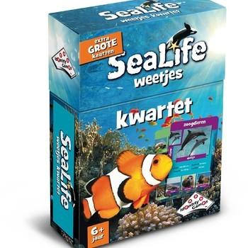 Sealife weetjes kwartet