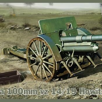 IB 35025 Skoda 100mm vz 14/18 Howitzer