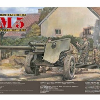 AF 35181 US 3 inch gun M8 on carriage M6