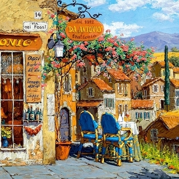 CA 400171 Kleuren van Toscanië panorama