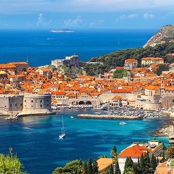 CA 400225 Dubrovnik Croatië panorama