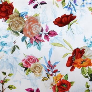 11025 Pastel blue bouquets