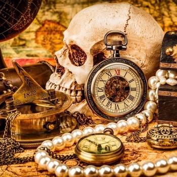 B 70048 Pirate treasures