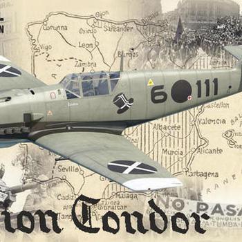 ED 11105 Bf 109E 1-3 Legion Condor 1/32
