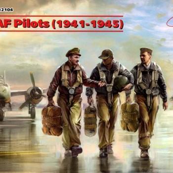 I 32104 USAAF Pilots (1941-1945) 1/32