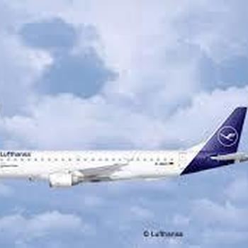 R 3883 Embraer 190 Lufthansa New Livery