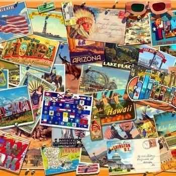 B 70170 Postcard USA G Walton