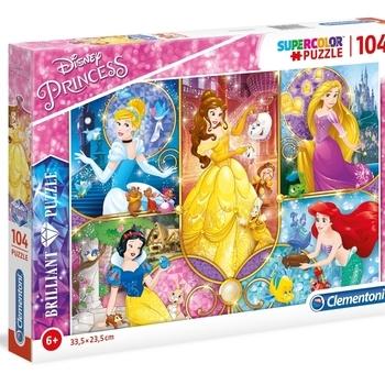 CL 20140 Brilliant puzzle Disney prinsessen 104 st