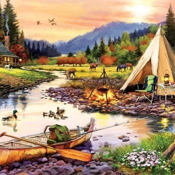 A 5520 Camping friends Mcneil
