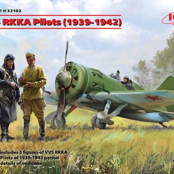 I 32102 VVS RKKA Pilots (1939 - 1942 ) 1/32