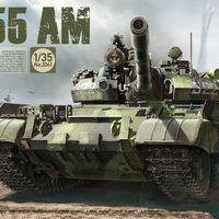 TAK 2041 T-55 AM Russian medium tank