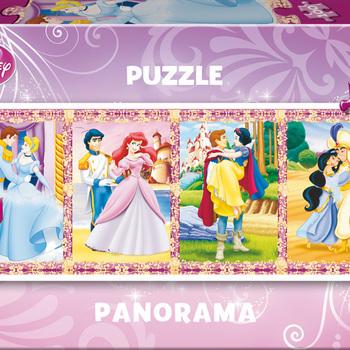 E 13500 Panorama prinsessen 100 st